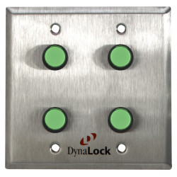 DynaLock 6145 Pushbuttons