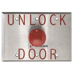 """DynaLock 6291 Palm Switch, 1-5/8"""" Dia. 30 Sec. Min. PTD, SPDT Form """"Z"""", City of Denver"""