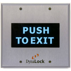 DynaLock 6500 Series High Visibility Pushplates