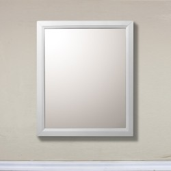 Bellaterra 7610 30 In Mirror-White - 30x1x36""