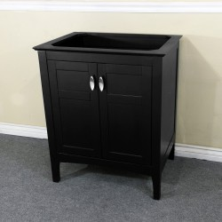 Bellaterra 7613 29 In Single Sink Vanity-Wood-Espresso Cabinet Only - 29x21.3x34.5""