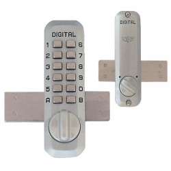 Lockey M220 Mechanical Keyless Surface Mount Slide Deadbolt