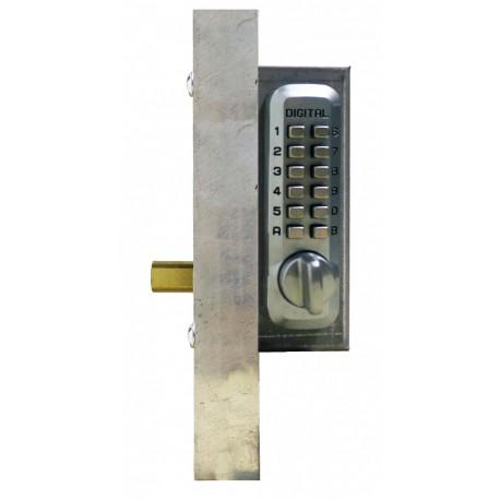 Lockey Add A Bolt Kit Mechanical Keyless Double Sided Combination Deadbolt Gate Lock