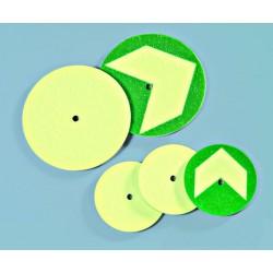 American Permalight Aluminum Discs for Gratings, One center hole (10 pcs)