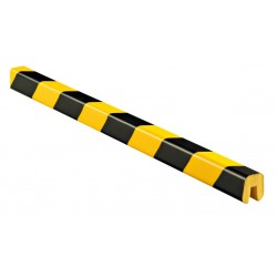 American Permalight 82-9404 G Type I-Beam Shelf Bumper, Black-Yellow