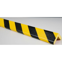 American Permalight 82-0416 H Type Corner Guard Bumper, Black-Yellow
