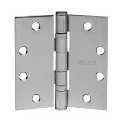 "McKinney 76332 4-1/2"" x 4-1/2"" MPB79 Ball Bearing Hinge, 26D Stainless Steel"