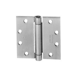 "McKinney 1502 4-1/2"" x 4-1/2"" Spring Hinges - Standard Weight"