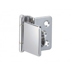 Sugatsune GH-34-8CR-K Half Overlay Glass Door Hinge (w/ Catch)