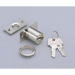 "Sugatsune 2160M Push Lock - 24mm (15/16"") Door Thickness"
