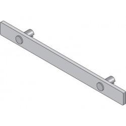 Sugatsune XL-US02-S015 Shelf Edge for Glass Shelf