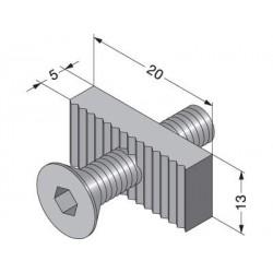 Sugatsune XL-US02-S013 Back Panel Clamp Fastener