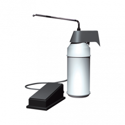 ASI 0349 Soap Dispenser (Foot Operated) – Surface Mounted