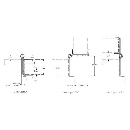 Markar HG Hinge/Guard Pin and Barrel Hinge