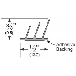 Pemko S773_ Adhesive-Backed Fire/Smoke Gasketing