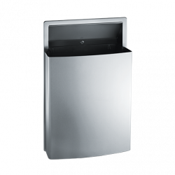 ASI 20458 Roval™ Semi-Recessed Removable Waste Receptacle