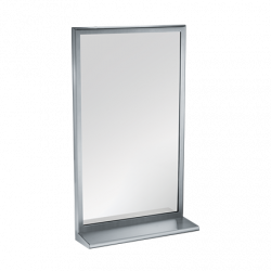ASI 20655 Roval™ Inter-Lok Stainless Steel Framed Mirrors – Plate Glass
