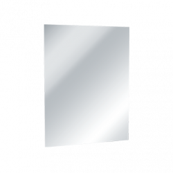 ASI 8026 Frameless Stainless Steel Mirror With Masonite Backing