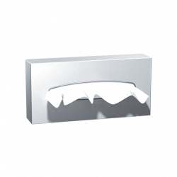 ASI 0258-SS Facial Tissue Dispenser, Satin Finish – Surface Mounted