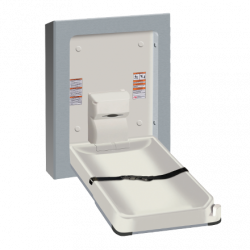 ASI 9017 Baby Changing Station, Vertical – Stainless Steel