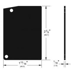 Pemko K134EP End Plate Kit, Clear