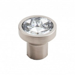 Top Knobs TK735-TK736 Barrington Wentworth Clear Crystal Knob