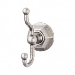 Top Knobs Edwardian Bath Hex Double Hook