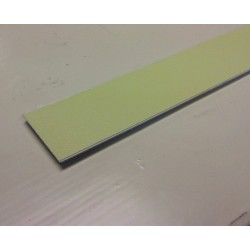 """American Permalight 8360207 CC-ALU: 1"""" x 48"""" Aluminum Strip with foamy adhesive. UL1994-listed for Floor- and Walls"""