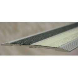 "American Permalight 8340527L 2-3/8"" x 48"" Flat Extruded Aluminum Profile - Photoluminescent"