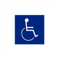 """Cal-Royal HI-11 Blue Insignia Handicap Logo 4"""" x 4"""""""