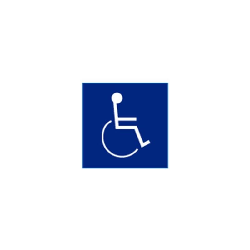 Cal Royal Hi 11 Blue Insignia Handicap Logo 4 Quot X 4 Quot