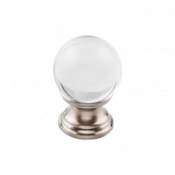 Top Knobs TK840-TK842 Serene Clarity Clear Glass Knob