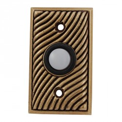 Vicenza D4007 Sanzio Contemporary Rectangle Doorbell