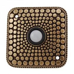 Vicenza D4012 Tiziano Contemporary Square Doorbells