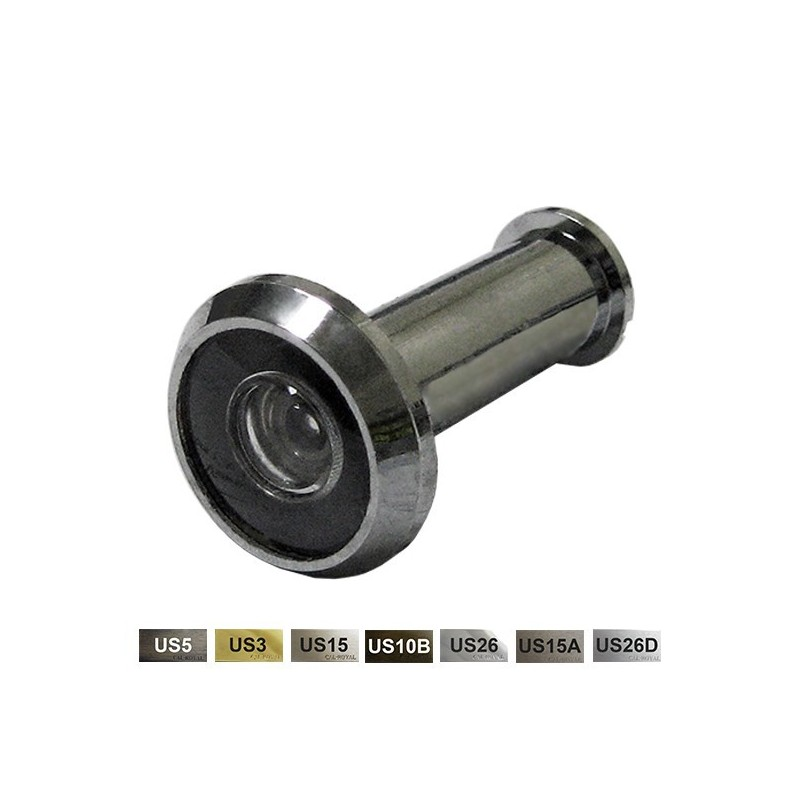 cal royal dv180 brass door viewer 180 degree