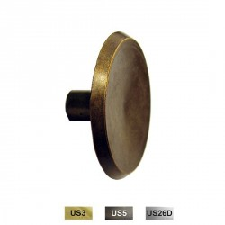Cal-Royal CK130 Bi-Fold Concave Knob Beveled Edge