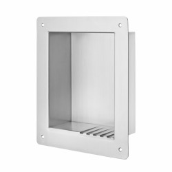 Kingsway Anti-Ligature KG12 Soap Shelf - Recessed