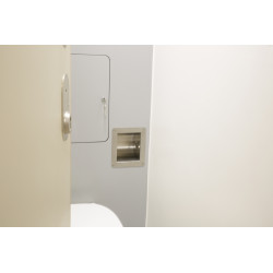 Kingsway Anti-Ligature KG13 Toilet Roll Holder - Recessed