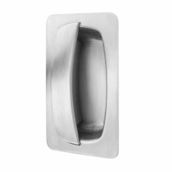 Kingsway Recessed Anti-Ligature KG71 Pull Handle - Back to Back Fixed