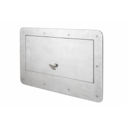 Kingsway Anti-Ligature KG164 or KG165 Safe Serve Tray Hatch with 3-Point Lock