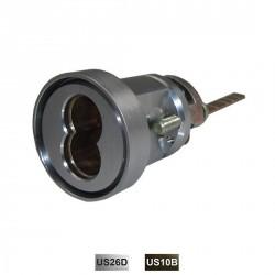 Cal-Royal 98GLSCYL-1 Cylinder Trim for Narrow Stile Device, Satin Chrome