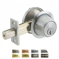 Cal-Royal CB160 Series Standard Duty Grade 2 Deadbolts / Dead Latches Equivalent to Schlage B160