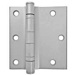 """Cal-Royal FSHBB45 Full Surface Standard Weight Five Knuckle Ball Bearing Hinge with Non-Removable Pin 4 1/2"""" in Prime Coat (USP"""