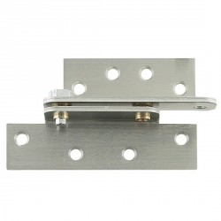 "Cal-Royal RPH45 Full Surface Reinforcing Pivot Hinge 4 1/2"" wide in Satin Chrome (US26D)"