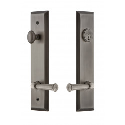 Grandeur Hardware Fifth Avenue Tall Plate Complete Entry Set w/ Georgetown Lever