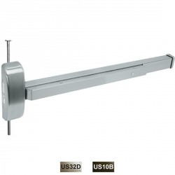 Cal-Royal CVR9800 Wood and Metal Concealed Vertical Rod Exit Device Non-Fire and Fire Rated