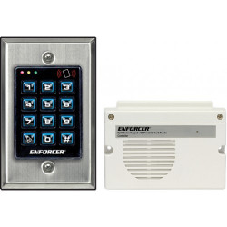 SECO-LARM SK-4131-SPSQ Split Series Keypad (w/ Proximity Reader)