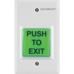 SECO-LARM SD-7223GW-LQ Request-to-Exit Plate