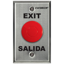 SECO-LARM SD-7201RCPE1Q Request-to-Exit Plate