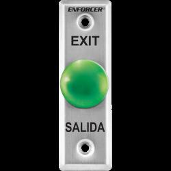 SECO-LARM PB-5115-GQ Miniature Push Buttons/RTE Plate
